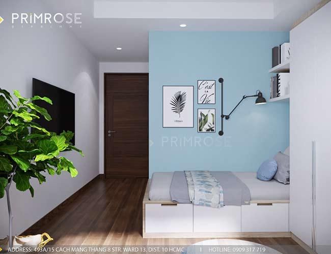 Thiết kế nội thất căn hộ 100m2 The PegaSuite,Quận 8 thiet ke noi that can ho hien dai 1