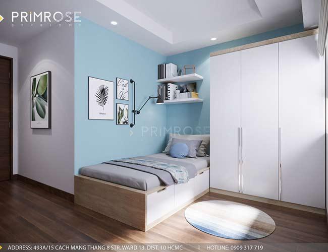 Thiết kế nội thất căn hộ 100m2 The PegaSuite,Quận 8 thiet ke noi that can ho hien dai 10