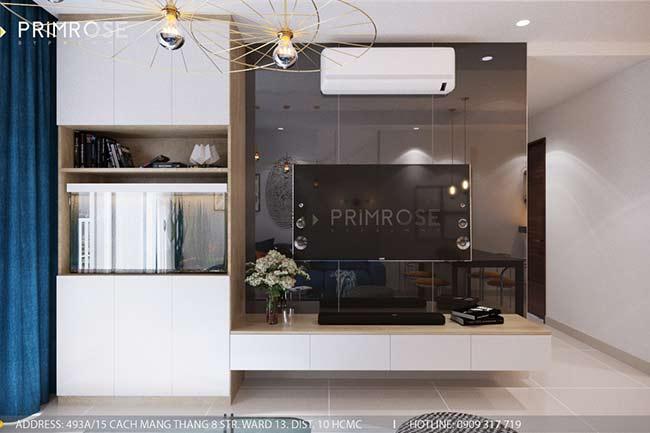 Thiết kế nội thất căn hộ 100m2 The PegaSuite,Quận 8 thiet ke noi that can ho hien dai 13