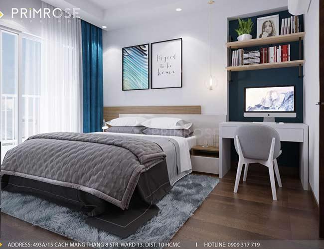 Thiết kế nội thất căn hộ 100m2 The PegaSuite,Quận 8 thiet ke noi that can ho hien dai 5