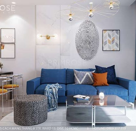 Thiết kế nội thất căn hộ 100m2 The PegaSuite,Quận 8