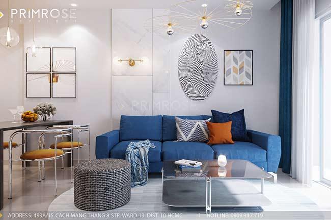 Thiết kế nội thất căn hộ 100m2 The PegaSuite,Quận 8 thiet ke noi that can ho hien dai 8