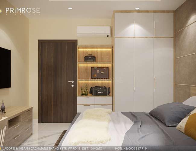 Thiết kế nội thất căn hộ hiện đại 75m2, 2 phòng ngủ tại Quận 11 thiet ke noi that can ho phong cach moc 1