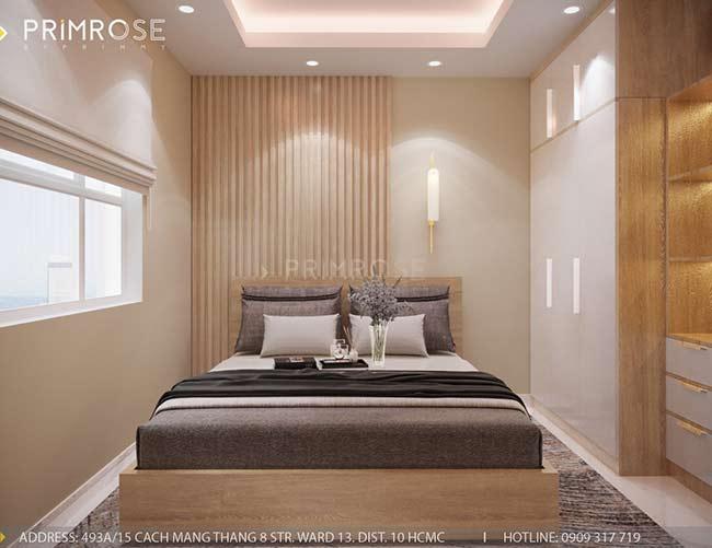 Thiết kế nội thất căn hộ hiện đại 75m2, 2 phòng ngủ tại Quận 11 thiet ke noi that can ho phong cach moc 6