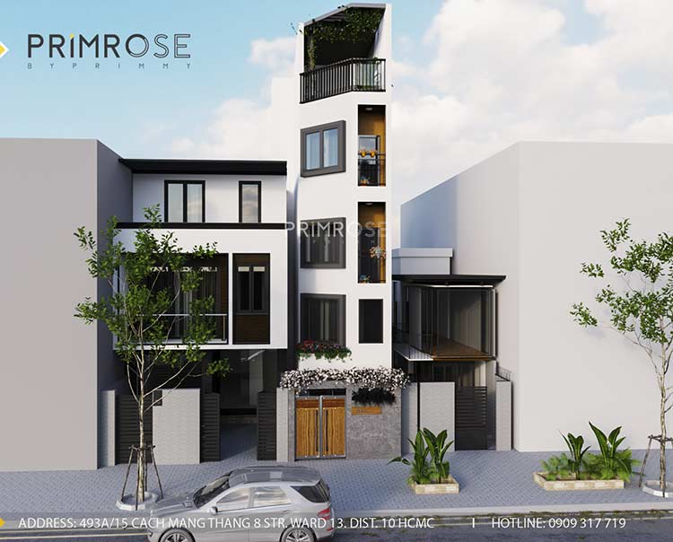 Thiết kế nội thất nhà phố 3 tầng tại Dạ Nam, Quận 8 thiet ke noi that nha pho 18