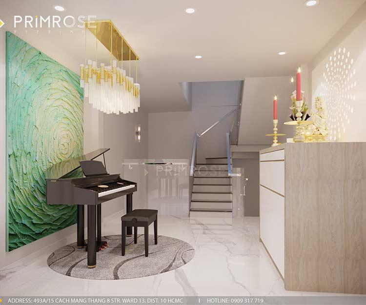 Thiết kế nội thất nhà phố 3 tầng tại Dạ Nam, Quận 8 thiet ke noi that nha pho 7
