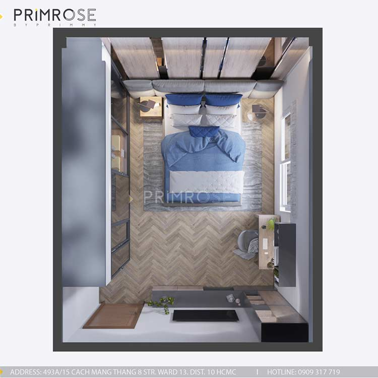 Thiết kế nội thất nhà phố tại Tây Thạnh, Tân Phú thiet ke noi that nha pho phong cach hien dai 12