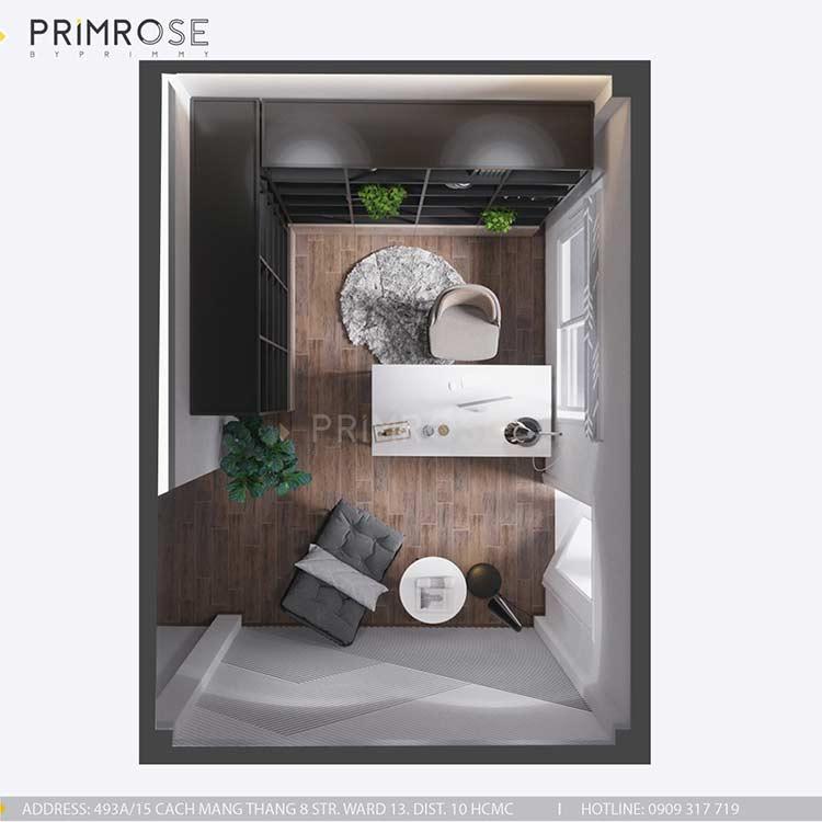 Thiết kế nội thất nhà phố tại Tây Thạnh, Tân Phú thiet ke noi that nha pho phong cach hien dai 13