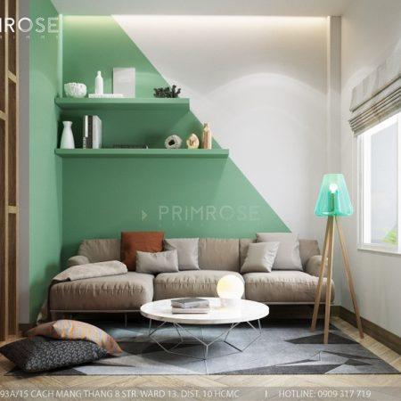 Thiết kế nội thất nhà phố tại Tây Thạnh, Tân Phú