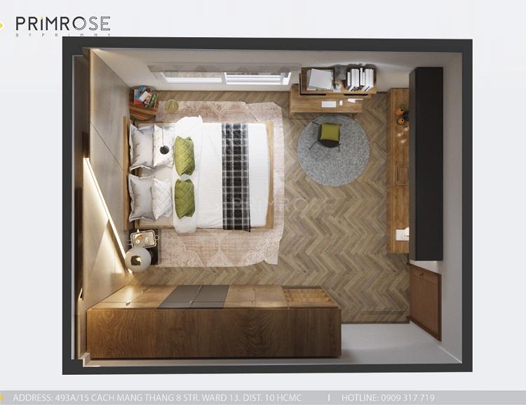 Thiết kế nội thất nhà phố tại Tây Thạnh, Tân Phú thiet ke noi that nha pho phong cach hien dai 23