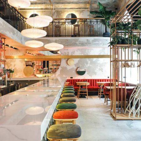 Chiêm ngưỡng không gian quán cafe phong cách đương đại