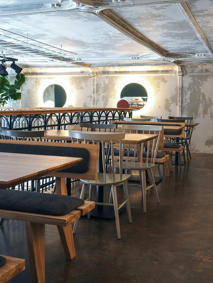 Chiêm ngưỡng không gian quán cafe phong cách đương đại thiet ke quan cafe phong cach hien dai 10