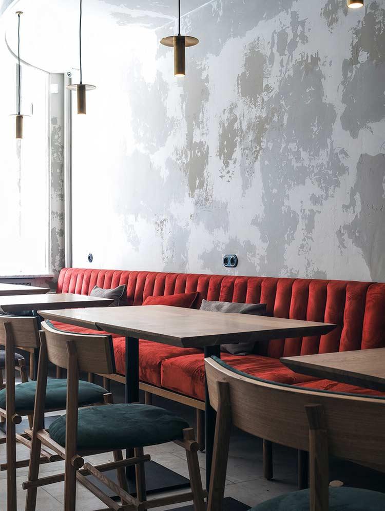 Chiêm ngưỡng không gian quán cafe phong cách đương đại thiet ke quan cafe phong cach hien dai 13