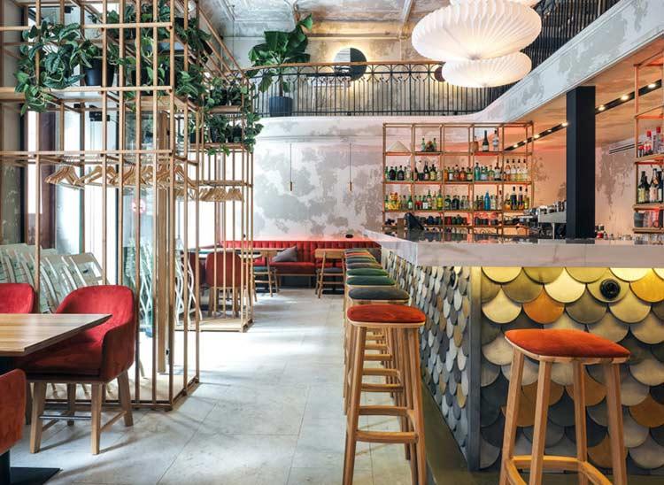 Chiêm ngưỡng không gian quán cafe phong cách đương đại thiet ke quan cafe phong cach hien dai 3