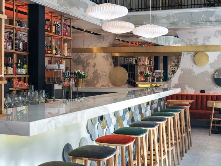 Chiêm ngưỡng không gian quán cafe phong cách đương đại thiet ke quan cafe phong cach hien dai 4