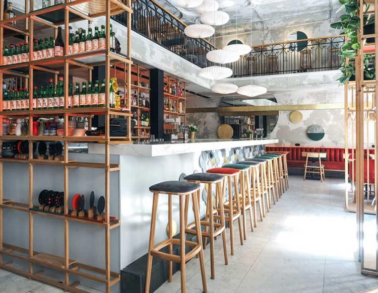 Chiêm ngưỡng không gian quán cafe phong cách đương đại thiet ke quan cafe phong cach hien dai 7