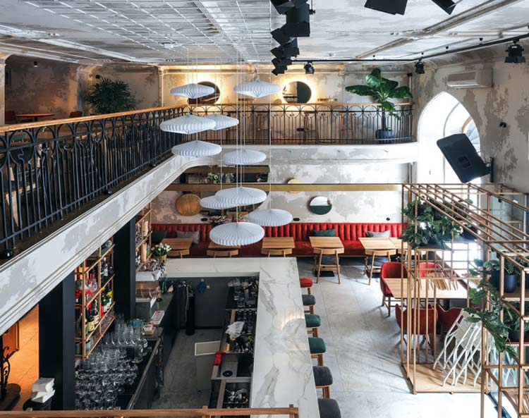 Chiêm ngưỡng không gian quán cafe phong cách đương đại thiet ke quan cafe phong cach hien dai 9