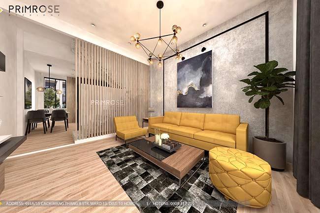 Thiết kế nội thất nhà phố đẹp mang phong cách tân cổ điển thiet ke nha pho ban co dien 14