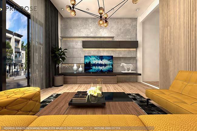 Thiết kế nội thất nhà phố đẹp mang phong cách tân cổ điển thiet ke nha pho ban co dien 15