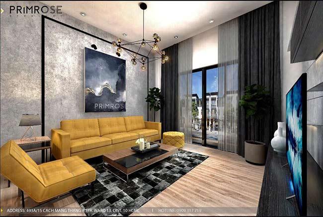 Thiết kế nội thất nhà phố đẹp mang phong cách tân cổ điển thiet ke nha pho ban co dien 3