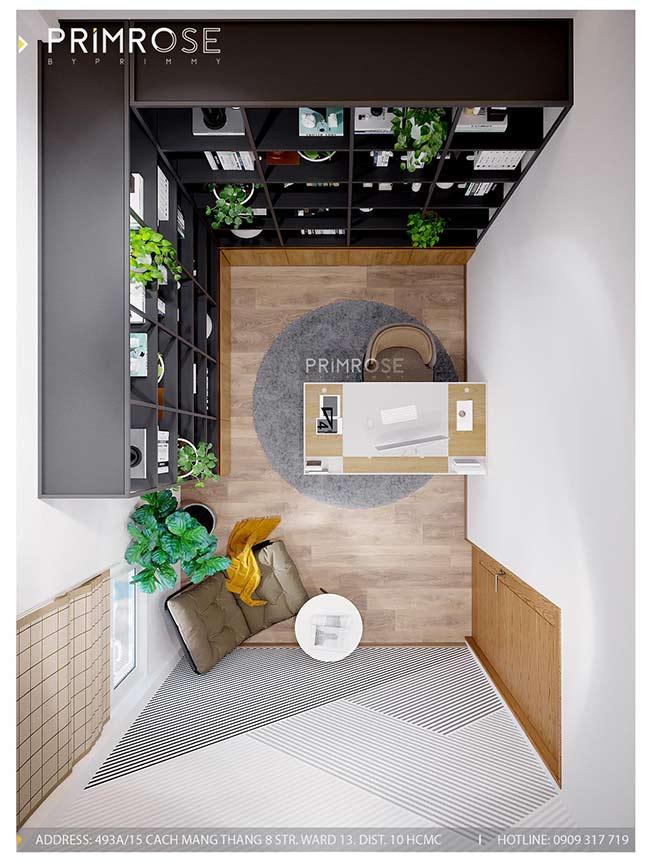 Thiết kế nội thất nhà phố đẹp mang phong cách tân cổ điển thiet ke nha pho ban co dien 7