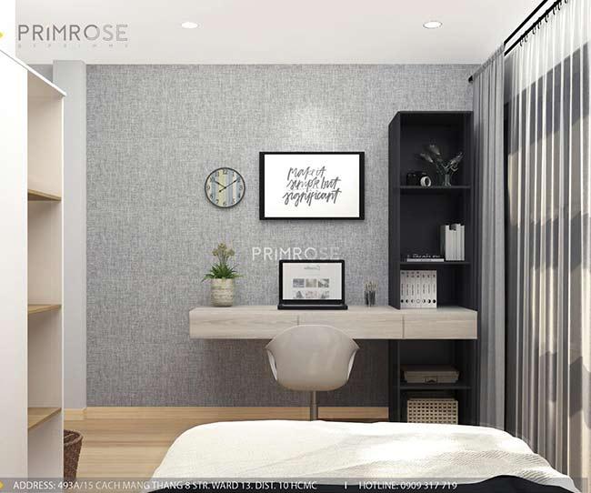 Thiết kế nội thất nhà phố 1 trệt, 2 lầu tại Thủ Đức thiet ke nha pho hien dai 10