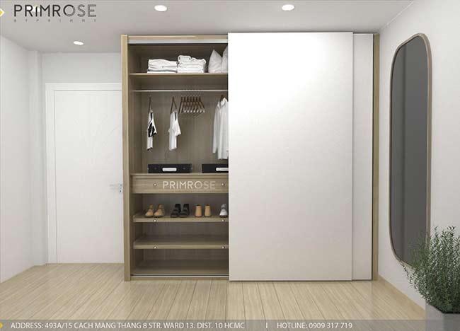 Thiết kế nội thất nhà phố 1 trệt, 2 lầu tại Thủ Đức thiet ke nha pho hien dai 16