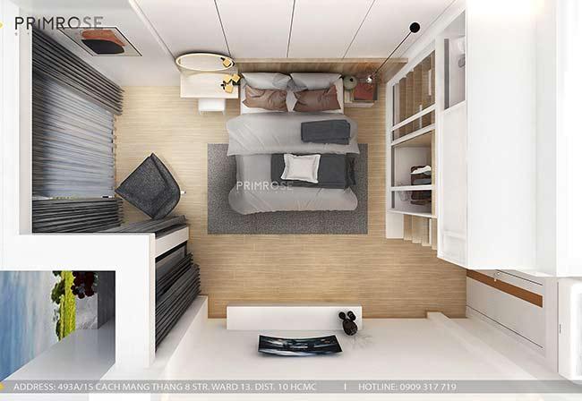 Thiết kế nội thất nhà phố 1 trệt, 2 lầu tại Thủ Đức thiet ke nha pho hien dai 18