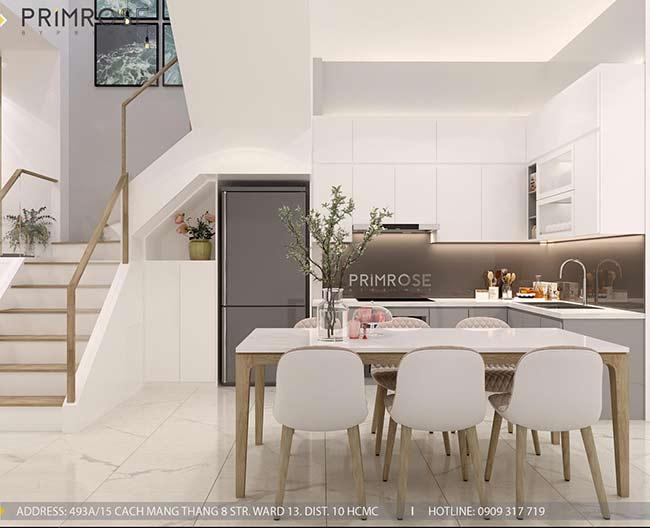 Thiết kế nội thất nhà phố Kha Vạn Cân, Thủ Đức thiet ke nha pho hien dai 2