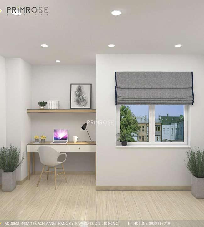 Thiết kế nội thất nhà phố 1 trệt, 2 lầu tại Thủ Đức thiet ke nha pho hien dai 22