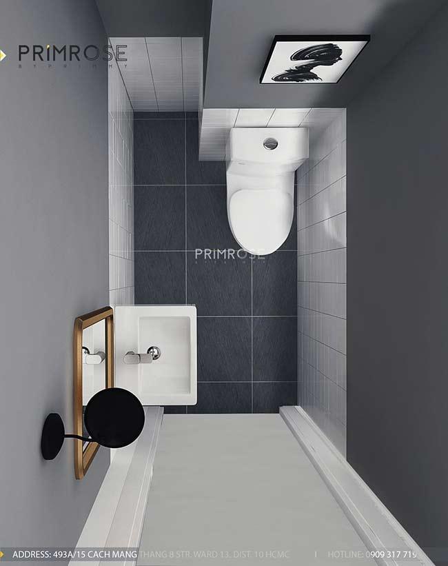 Thiết kế nội thất nhà phố 1 trệt, 2 lầu tại Thủ Đức thiet ke nha pho hien dai 23