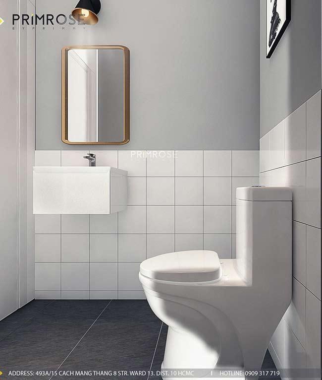 Thiết kế nội thất nhà phố 1 trệt, 2 lầu tại Thủ Đức thiet ke nha pho hien dai 26