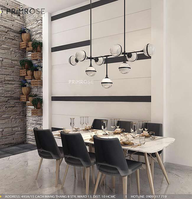 Thiết kế nội thất nhà phố 1 trệt, 2 lầu tại Thủ Đức thiet ke nha pho hien dai 27