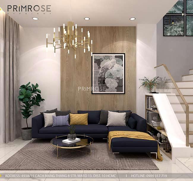 Thiết kế nội thất nhà phố Kha Vạn Cân, Thủ Đức thiet ke nha pho hien dai 5