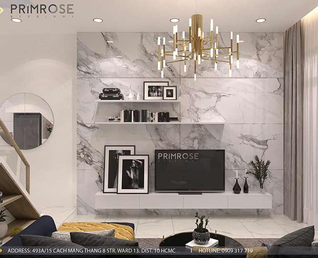 Thiết kế nội thất nhà phố Kha Vạn Cân, Thủ Đức thiet ke nha pho hien dai 6