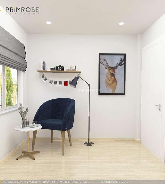 Thiết kế nội thất nhà phố 1 trệt, 2 lầu tại Thủ Đức thiet ke nha pho hien dai 8