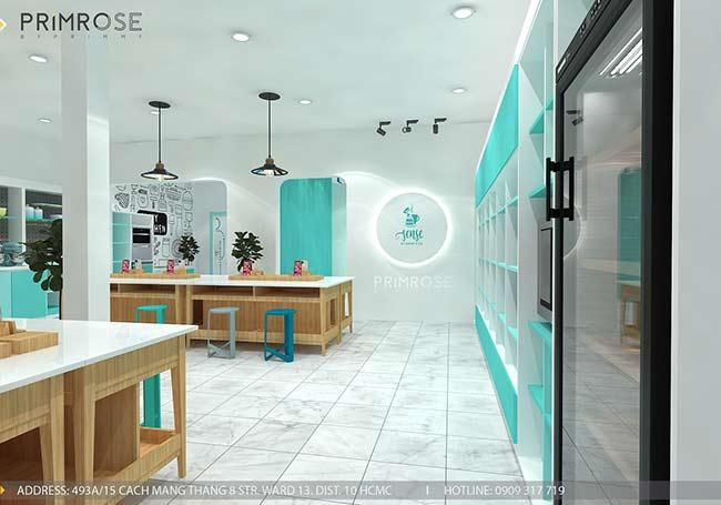Thiết kế tiệm bánh ngọt kết hợp trà cafe Sense DIY Bakery & Tea thiet ke quan cafe banh HCM 14