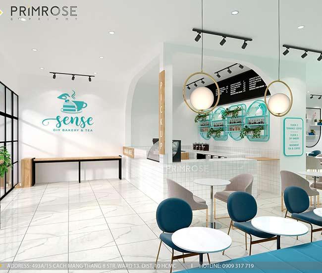 Thiết kế tiệm bánh ngọt kết hợp trà cafe Sense DIY Bakery & Tea thiet ke quan cafe banh HCM 18