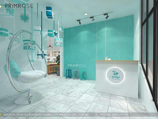 Thiết kế tiệm bánh ngọt kết hợp trà cafe Sense DIY Bakery & Tea thiet ke quan cafe banh HCM 2
