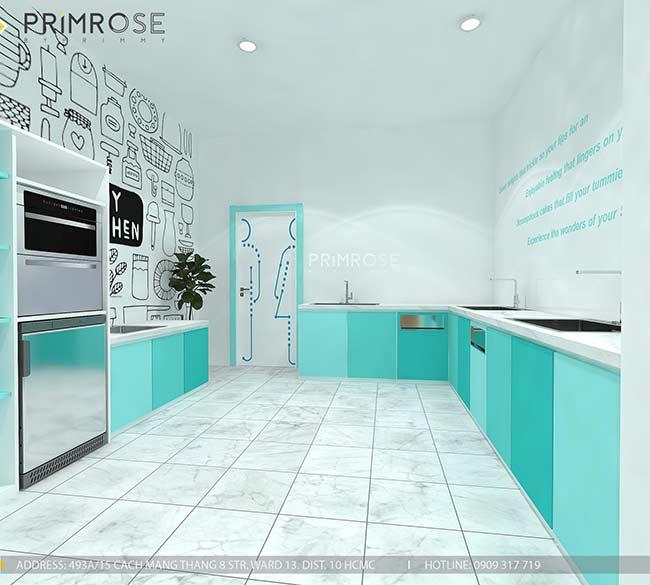 Thiết kế tiệm bánh ngọt kết hợp trà cafe Sense DIY Bakery & Tea thiet ke quan cafe banh HCM 6