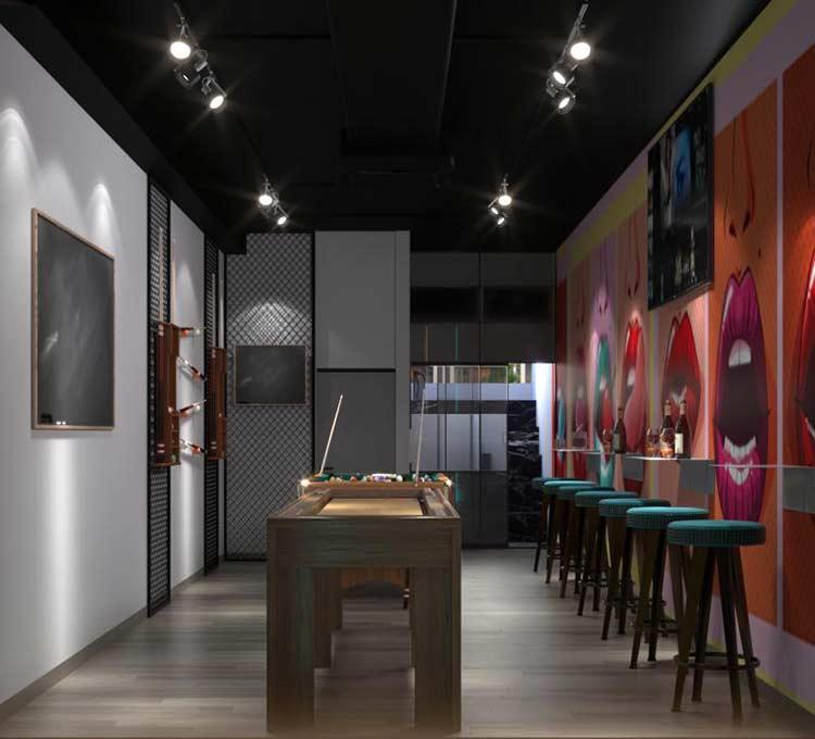 NU Lounge & Bar với thiết kế nội thất hiện đại, sang trọng thiet ke bar chuyen nghiep 3