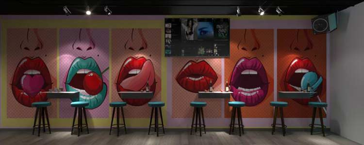 NU Lounge & Bar với thiết kế nội thất hiện đại, sang trọng thiet ke bar chuyen nghiep 4