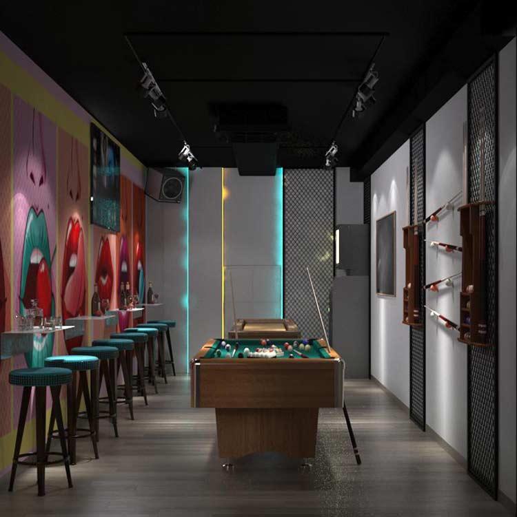 NU Lounge & Bar với thiết kế nội thất hiện đại, sang trọng thiet ke bar chuyen nghiep 6