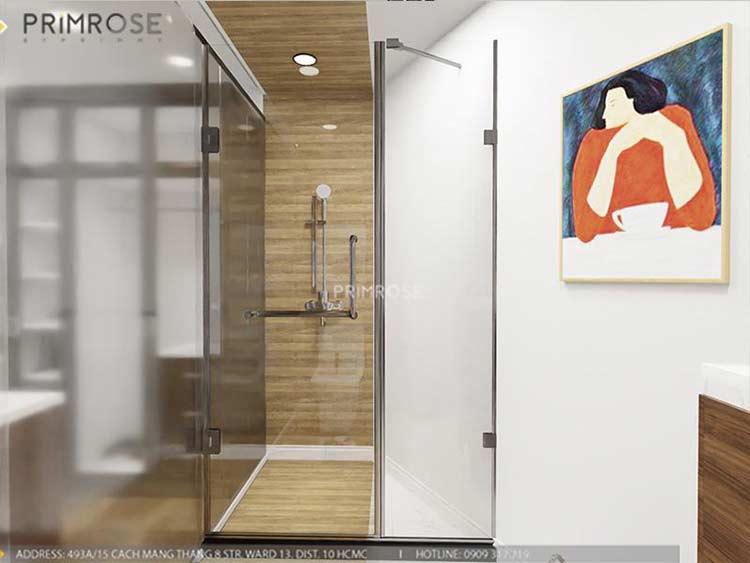 Thiết kế nội thất nhà phố 2 tầng phong cách hiện đại thiet ke nha pho hien dai 11