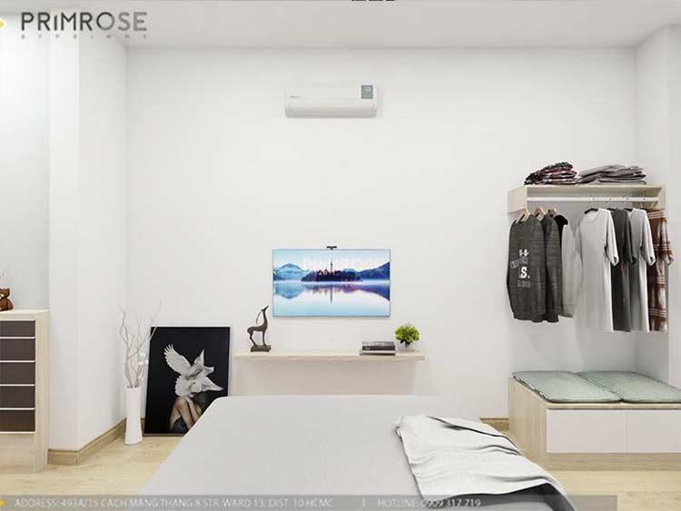 Thiết kế nội thất nhà phố 2 tầng phong cách hiện đại thiet ke nha pho hien dai 13
