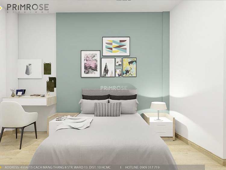 Thiết kế nội thất nhà phố 2 tầng phong cách hiện đại thiet ke nha pho hien dai 14