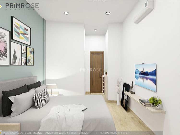 Thiết kế nội thất nhà phố 2 tầng phong cách hiện đại thiet ke nha pho hien dai 15