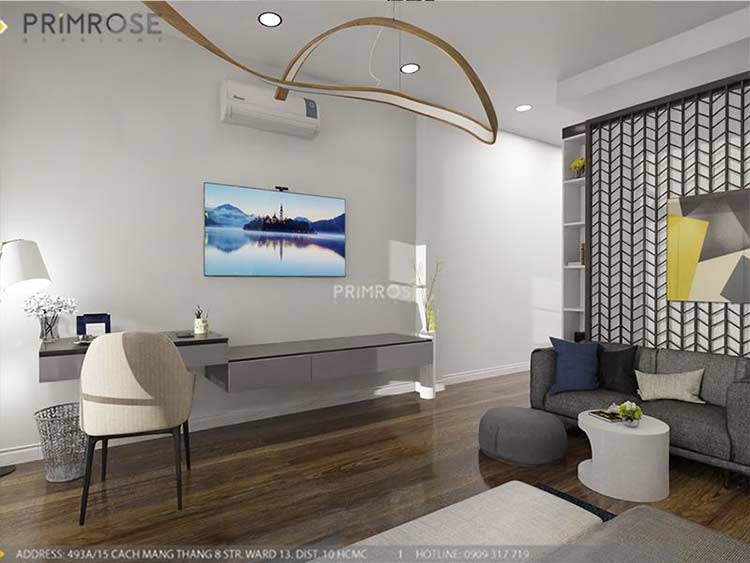 Thiết kế nội thất nhà phố 2 tầng phong cách hiện đại thiet ke nha pho hien dai 17