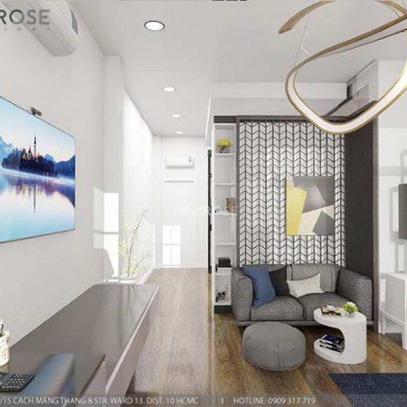 Thiết kế nội thất nhà phố 2 tầng phong cách hiện đại