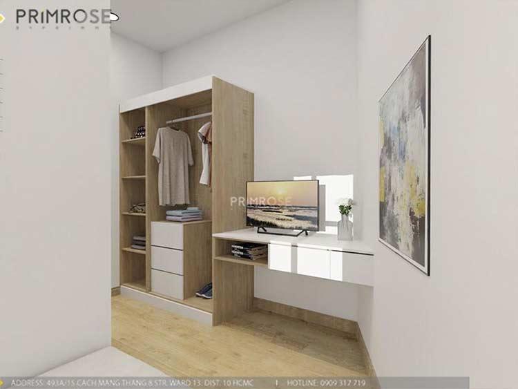 Thiết kế nội thất nhà phố 2 tầng phong cách hiện đại thiet ke nha pho hien dai 2